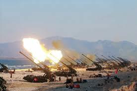 북한장사정포